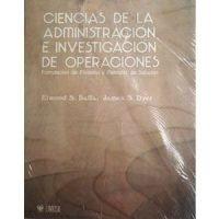 Ciencias de la administración e investigación de operaciones