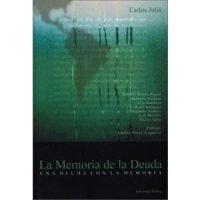 La memoria de la deuda. Una deuda con la memoria