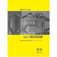 Los arquitectos en la reconstrucción