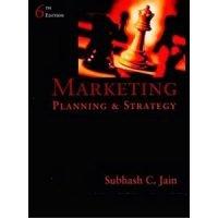 Marketing. Planning & Strategy