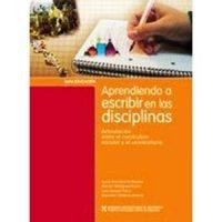 Aprendiendo a escribir en las disciplinas