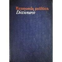 Economía política. Diccionario