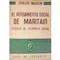 El pensamiento social de Maritain