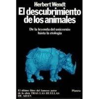 El descubrimiento de los animales