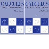 Cálculo infinitesimal. Tomos 1 y 2