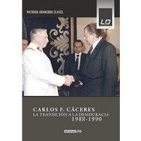 Carlos F. Cáceres. La transición a la democracia 1988-1990