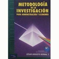 Metodología de la investigación para administración y economía