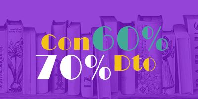 Oferta de libros con 60% y 70% dcto.